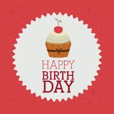 Happy birthday design Stock Image