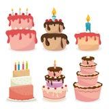 Happy Birthday design, vector illustration. Happy Birthday card design, vector illustration Royalty Free Stock Images