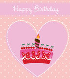Happy birthday. Design, vector illustration eps10 graphic Stock Photography