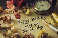 Happy birthday enjoy your special day.