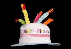 Happy birthday fancy dress hat Stock Photography