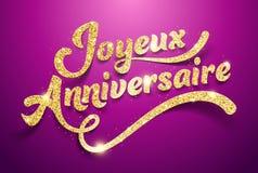 Happy Birthday Feliz Cumpleaños Bon Anniversaire ~ Joyeux anniversaire happy birthday french card stock illustrations