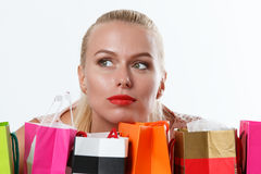 Happy birthday and gifts concept Royalty Free Stock Photo