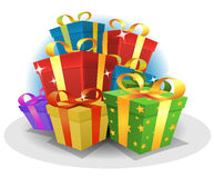 Happy Birthday Gifts Pack Royalty Free Stock Photo