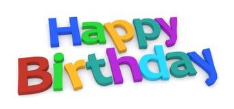 Happy Birthday graphics vector illustration