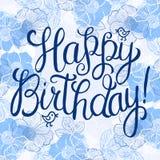 Happy birthday greeteng card Stock Image