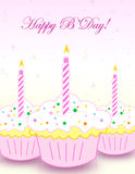 Happy birthday greeting Stock Photo