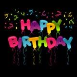 Happy Birthday Greeting Card Royalty Free Stock Image