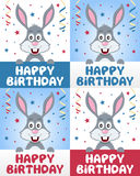 Happy Birthday Bunny Rabbit Stock Photography