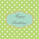 Happy Birthday! Royalty Free Stock Photos
