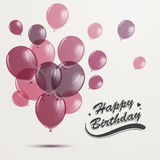 Happy Birthday Greeting Card Royalty Free Stock Image