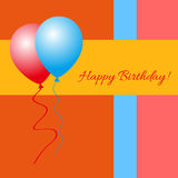 Happy Birthday! - Greeting Card Royalty Free Stock Image