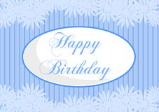 Happy birthday greeting cards. Image usable as greeting card for all birthday Royalty Free Stock Photo