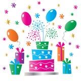 Happy birthday greeting celebration Stock Photo