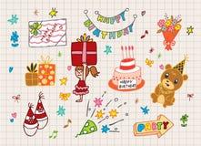 Happy Birthday icon Royalty Free Stock Photos
