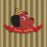 Happy Birthday Illustration Stock Photo