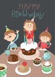 Happy_birthday 01 royalty free illustration