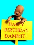 Happy birthday kiddo Stock Photos