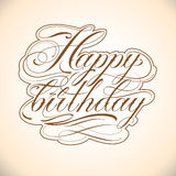 Happy_Birthday Royalty Free Stock Photos