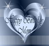 Happy birthday mom Royalty Free Stock Images