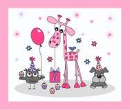 Happy birthday or other celebration. Happy birthday, baby shower or Royalty Free Stock Photography