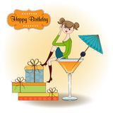 Happy birthday party Royalty Free Stock Images