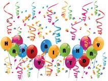 Happy birthday party Royalty Free Stock Photo