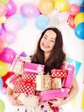 Happy birthday party. Stock Photos