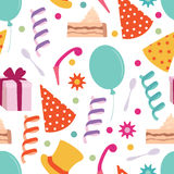Happy Birthday party background Stock Image