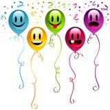 Happy birthday Party balloons Stock Photography
