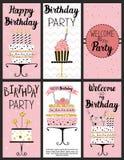 Happy Birthday Party cards