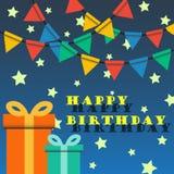 Happy birthday party Stock Image