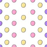 Happy Birthday, Party decor. Vector carnaval seamless colorful pattern. Kids festive background with confetti. Vector. Colorful kid carnaval Happy birthday vector illustration