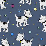 Happy Birthday Party seamless pattern Royalty Free Stock Photography