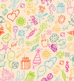 Happy Birthday Pattern Stock Photos