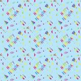 Happy Birthday pattern Royalty Free Stock Image