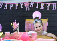 Happy birthday Princess Royalty Free Stock Photography