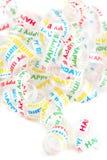Happy birthday ribbon Royalty Free Stock Photo