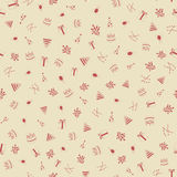 Happy Birthday Seamless Pattern Background Royalty Free Stock Photos