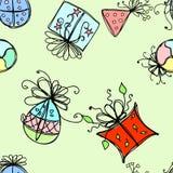 Happy birthday seamless,vector Stock Image