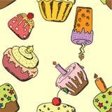 Happy birthday seamless,vector royalty free illustration