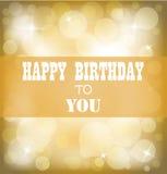 Happy birthday sign design background. Illustration of Happy birthday sign design background Stock Image