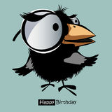Happy Birthday smile birds funny Stock Photo