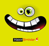 Happy Birthday smiles Royalty Free Stock Photos