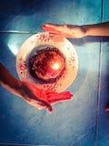 Happy birthday. Son like cake Royalty Free Stock Photography