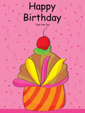 Happy Birthday special cake Royalty Free Stock Images