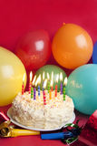 Happy birthday still life Royalty Free Stock Photos