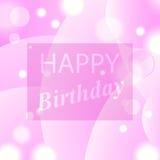Happy Birthday Royalty Free Stock Photo