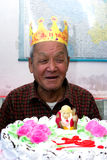 Happy birthday to grandpa Royalty Free Stock Image