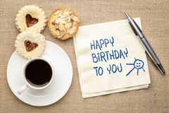 Happy Birthday to you! Royalty Free Stock Image